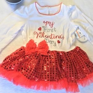 Valentines Day Baby Girl Dress